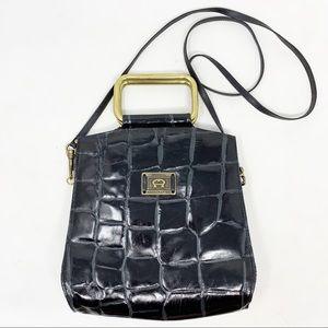 Vintage | Etienne Aigner Croc Embossed Bag